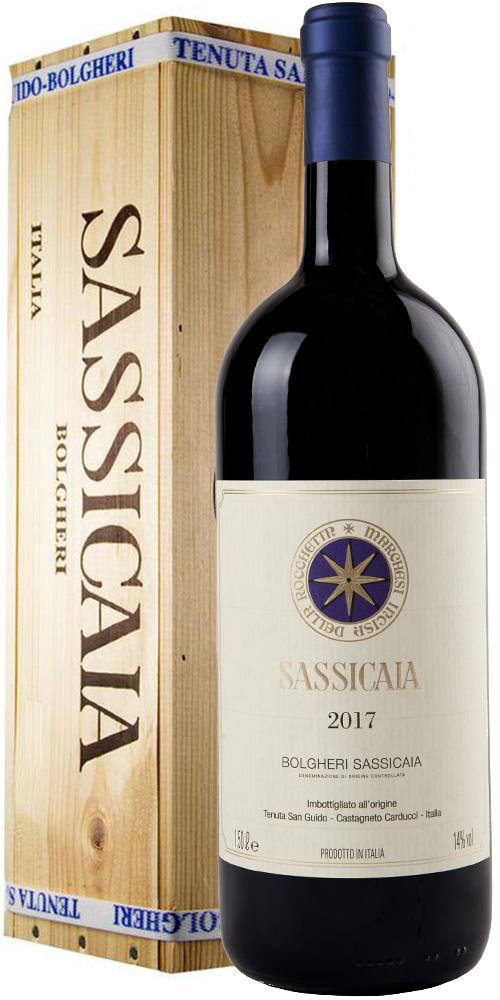 Tenuta san Guido Sassicaia 2017 Magnum Box